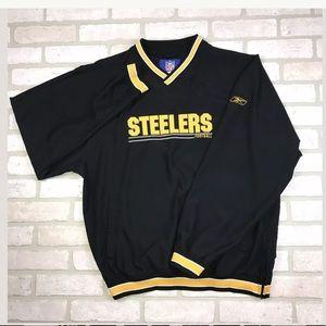 NFL Reebok Pittsburgh Steelers Pullover Wbreaker
